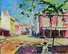 Charles Camoin Maisons à Seville 1907