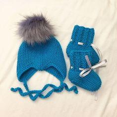 Babylue og strømper. Baby Tips, Baby Hacks, Baby Knitting Patterns, Winter Hats, How To Make, Diy, Shopping, Fashion, Threading