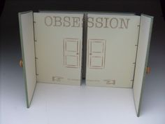 Obessions by Jenna Rodriguez. Handmade book and photographs
