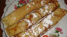 Francúzske palacinky: Najluxusnejšie, aké som kedy jedla – tenulinké, hebké a nie je po nich ťažko! Hot Dog Buns, Hot Dogs, French Toast, Vitamins, Healthy Recipes, Healthy Food, Bread, Cooking, Breakfast