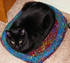 Ravelry: Cat Box Bed pattern by Chelsea Campbell