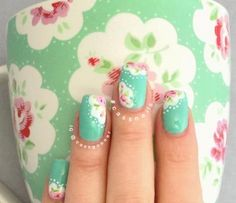 11 Floral Nails