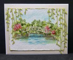 Spring in the Japanese Garden card by Sallie (hobbydujour)