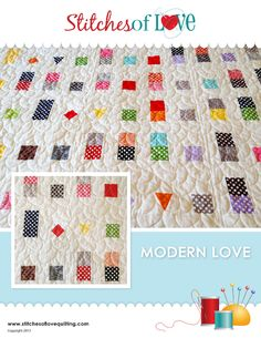 Looking for your next project? You're going to love Modern Love by designer Brittany Love.