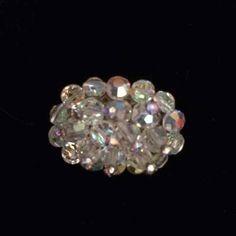 Vintage Aurora Borealis Bead Brooch - Mercari: Anyone can buy & sell