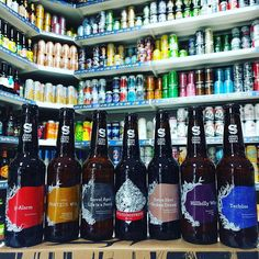 7 new beers from @sirencraftbrew  5-Alarm - 7.4% Red Chilli Beer - colab with #hoppinfrogbrewery  Proteus vol 2- 6.9% IPA hopped with Mosaic Chinook & Cascade  Barrel Aged Life is a Peach - 8% Peach Cream IPA aged in Chardonnay Barrels  Liquid Mistress - 5.8% Red IPA  Extra Shot Broken Dream - 6.5% Breakfast Stout with Espresso  Hillbilly Wine - 9% - Passionfruit & Oak IPA  Tschuss - 5% Berliner Weisse with Mint Lime & Orange