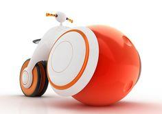 A Big Bold Bubbly Bike for Babes   Yanko Design