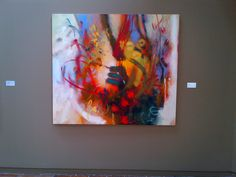 fuego Painting, Fire, Exhibitions, Colombia, Colors, Art, Painting Art, Paintings, Paint