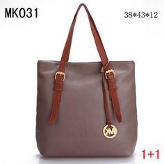 Michael Kors Shoulder Bags Brown Pink