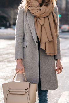 Klasyczny płaszcz Jasmine szary | Lasarta.pl - Sklep odzieżowy