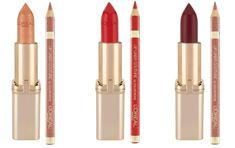 Loreal, Make Up, Lipstick, Beauty, Beautiful, Vestidos, Makeup Lips, Pouch Bag, Lipsticks