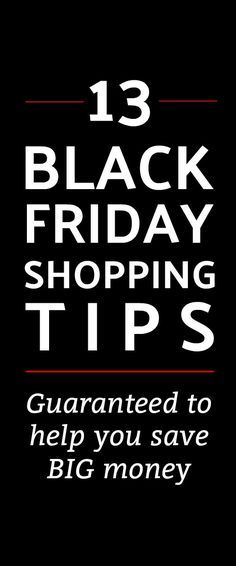 Our best 13 Black Friday Shopping Tips -- Save big money with these Black  Friday 2fe8fc4b5a