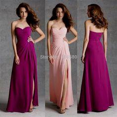 Awesome magenta pink bridesmaid dresses 2017-2018 Check more at http://newclotheshop.com/dresses-review/magenta-pink-bridesmaid-dresses-2017-2018/