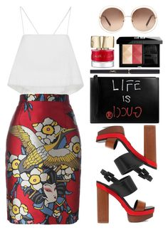 """Dsquared2"" by thestyleartisan ❤ liked on Polyvore featuring A.L.C., Dsquared2, Gucci, Michael Kors, Chloé, Smith & Cult, Givenchy and Yves Saint Laurent"