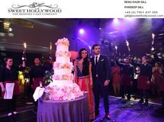 Enthuse your guests with delicious and their favourite Asian wedding cakes in London. Sweet Hollywood offers creative, innovative and yummy cakes to be the centre of attraction at your wedding. Reach us with your unique design, we also provide bespoke cake designing service.