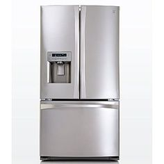 Kenmore Appliances for Kitchen, Laundry & Home Bottom Freezer Refrigerator, French Door Refrigerator, Kitchen And Bath, Kitchen Decor, Kitchen Ideas, Bungalow Kitchen, Kenmore Elite, Stainless Steel Refrigerator, Home Kitchens