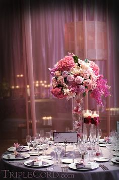 tall centerpieces for weddings | Weddingbee boards