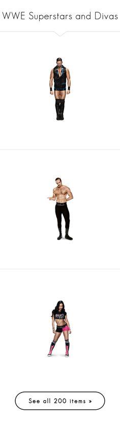 """WWE Superstars and Divas"" by imblissedoff ❤ liked on Polyvore featuring wwe, aj lee, divas, people, wwe diva, superstars, aksana, alexa bliss, accessories and batista"