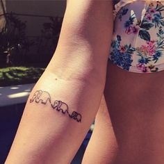 I would like to get this one, just on my ankle and i would have 7 elephants, one for every one in my family