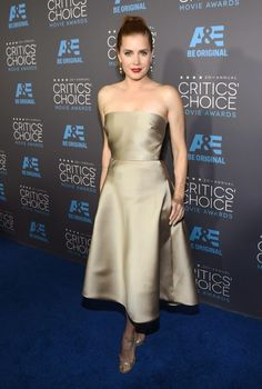 Fantasy Fashion Design: Vestidos de la alfombra azul de los Critic's Choice Movie Awards 2015