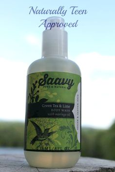Review: Saavy Green Tea and Lime Body Wash