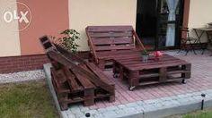 Znalezione obrazy dla zapytania meble ogrodowe z palet