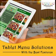 Get the most innovative features at affordable prices! Know more here: www.imenucards.com  #imenu #digitalmenu #tabletmenu #hotels