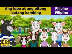 Wolf and the Seven Little Goats in English Films For Children, Stories For Kids, Wolf, Fables D'esope, Grimm, French Fairy Tales, Lion And The Mouse, Urdu Stories, English Story