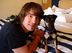 Jimmy Wayne: his dog is almost as cute as Bailey.