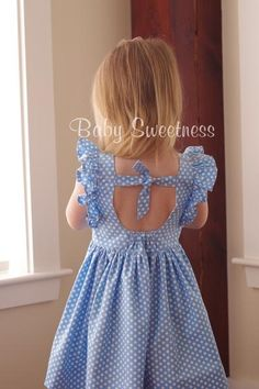 Clementine Vintage Style Dress with Extended Flutter Sleeves PDF – Foofoo Threads Sewing Patterns Little Girl Dresses, Girls Dresses, Sewing Hacks, Sewing Tips, Vintage Style Dresses, Sewing Projects For Beginners, Sewing Patterns Free, Kids Dress Patterns, Kind Mode