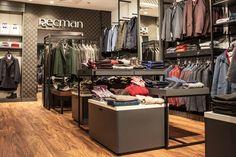 Дизайн магазина одежды Recman в Польше