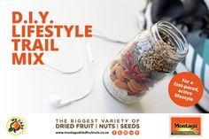 Dried Fruit, Healthy Lifestyle, Trail, Diy, Bricolage, Do It Yourself, Healthy Living, Homemade, Diys