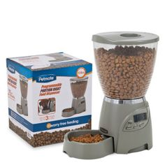 Petmate® Infinity Automatic Pet Feeder | Food & Water Bowls | PetSmart $74.99