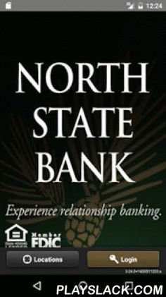North State Bank Mobile Banker  Android App - playslack.com ,  The North State Bank Mobile Banking App is a mobile banking solution that enables North State Bank customers to use their Android device to initiate routine transactions and conduct account research anytime, anywhere.Customers can view account transaction details and balance information, view account alerts, initiate account transfers and pay bills. De Noord-State Bank Mobile Banking App is een mobiel bankieren-oplossing die…