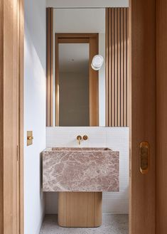 Bathroom Design Inspiration, Bad Inspiration, Bathroom Interior Design, Interior Inspiration, Bathroom Sink Design, Interior And Exterior, Interior Architecture, 1920s House, Stone Sink