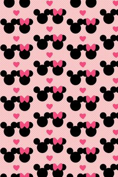 Mickey & Minnie iPhone wallpaper