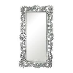 Titan Lighting Reede 72 in. x 40 in. Venetian Glass Framed Mirror - The Home Depot Venetian Glass, Venetian Mirrors, Baroque Mirror, Home Decor Outlet, Clear Glass, Room Decor, Ebay, Advice, Internet