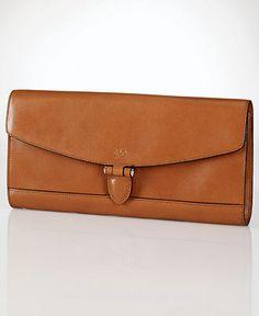 Lauren Ralph Lauren Handbag, Dorian Envelope Clutch - Clutches & Evening Bags - Handbags & Accessories - Macy's