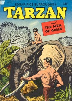 tarzan comic books | Tarzan (1948-1972 Dell/Gold Key) comic books
