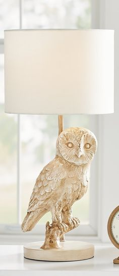Paros Table Lamp Shabby Chic Distressed Grey and Natural Shade 26cm NEW C