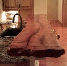 Kitchen - Mesquite Bar top