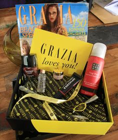 unboxing glossybox (june 2013) #girlietrash