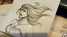 Fanart Wonder Woman by Alyssia Lalande
