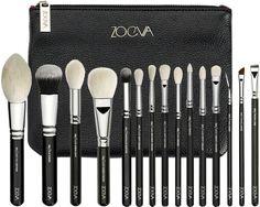 Luxe Complete makeup brush Set via Lifestyle Maven