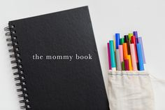 The Mommy Book.instead of a gift for mothers day, her children paint, draw, write, etc. something in her mommy book. cool to see how every entry is different year to year. Books For Moms, Making Memories, Sweet Memories, Super Mom, Family Traditions, My Little Girl, Mommy And Me, Little People, Future Baby