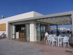 Ibiza. Lounge Bar in Marina Ibiza.