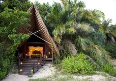 """Greystoke Mahale Tanzania The 27 Most Gorgeous """"Glamping"""" Locations Around the World via Brit + Co."""