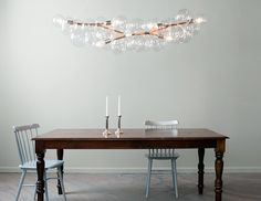 Design kroonluchters als eyecatchers in het interieur | Interieur design by nicole & fleur