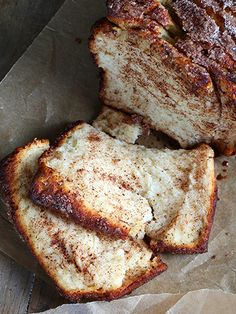 Whether for dessert or snack time, sometimes you just need a comfort-food type of bread—and this is exactly that. Get the recipe at Gluten Free on a Shoestring. Gf Recipes, Dairy Free Recipes, Bread Recipes, Celiac Recipes, Gluten Free Sweets, Gluten Free Cooking, Tahini, Cinnamon Pull Apart Bread, Sans Gluten Sans Lactose