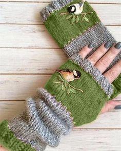 Cotton Gloves, Knitted Gloves, Fingerless Gloves, Fall Knitting, Vintage Knitting, Loom Knitting, Red Accessories, Knitting Accessories, Accessories Online